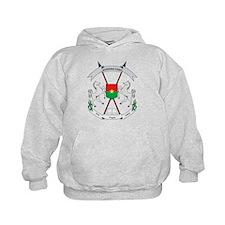 Burkina Faso Coat Of Arms Hoodie