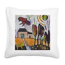 Homeward Bound Square Canvas Pillow