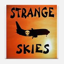STRANGE SKIES Tile Coaster
