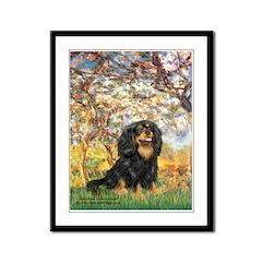 Spring & Cavalier (BT) Framed Panel Print
