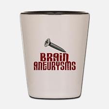 Screw Brain Aneurysms Shot Glass