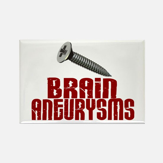 Screw Brain Aneurysms Rectangle Magnet