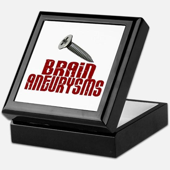 Screw Brain Aneurysms Keepsake Box