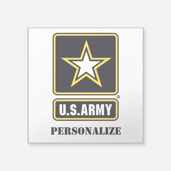 Personalize US Army Sticker