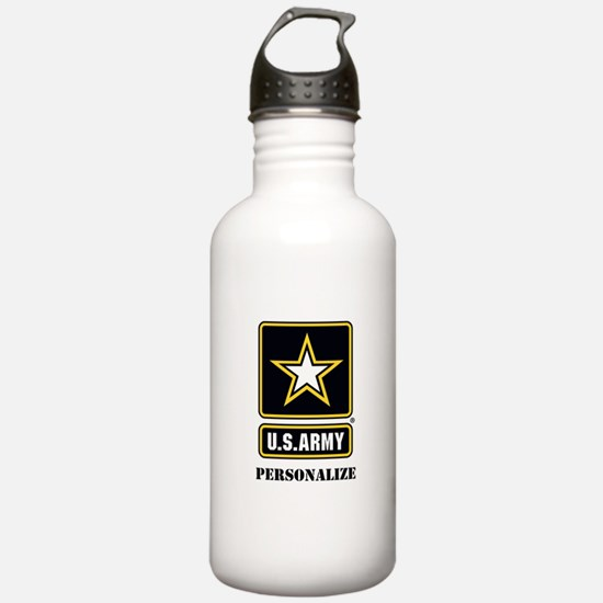 Personalize US Army Water Bottle