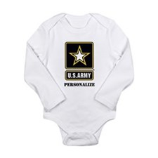 Personalize US Army Body Suit