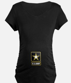 Personalize US Army Maternity T-Shirt