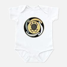 MIMBRES WATER TURTLE BOWL DESIGN Infant Bodysuit