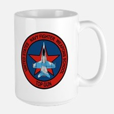 US Navy Fighter Weapons Schoo Large Mug