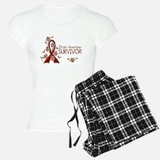 Brain Aneurysm Survivor 3 Pajamas