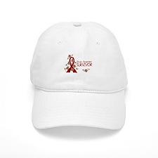 Brain Aneurysm Survivor 3 Baseball Baseball Cap