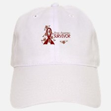 Brain Aneurysm Survivor 3 Baseball Baseball Cap