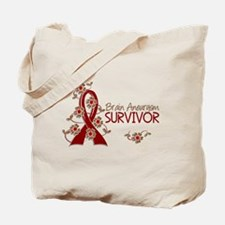 Brain Aneurysm Survivor 3 Tote Bag