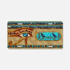 Harvest Moons Eye of Horus Aluminum License Plate