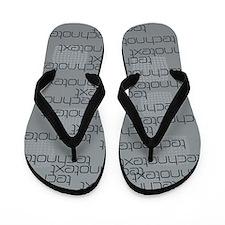Technotext Techno Cool Text Logo Dark Grey Flip Fl