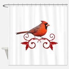 Beautiful Cardinal Shower Curtain