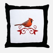 Beautiful Cardinal Throw Pillow