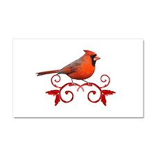 Beautiful Cardinal Car Magnet 20 x 12