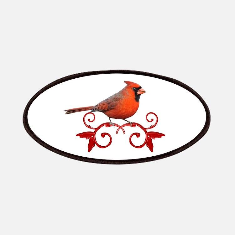 Beautiful Cardinal Patches