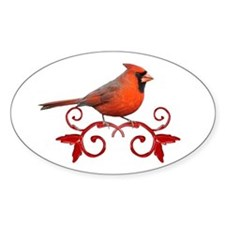 Beautiful Cardinal Decal