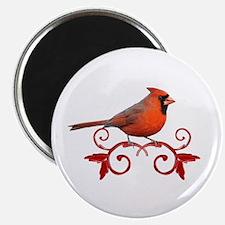 """Beautiful Cardinal 2.25"""" Magnet (100 pack)"""