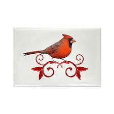 Beautiful Cardinal Rectangle Magnet