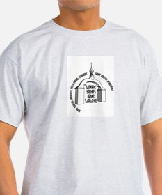 Where Saints Have Walked Arch T-Shirt