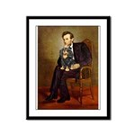 Lincoln & his Cavalier (BT) Framed Panel Print