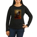 Lincoln & his Cavalier (BT) Women's Long Sleeve Da