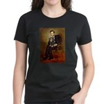 Lincoln & his Cavalier (BT) Women's Dark T-Shirt