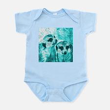 Meerkats, POPart, aqua Body Suit