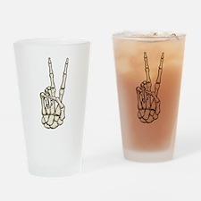 Dead Peace Drinking Glass