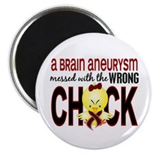 Brain Aneurysm Wrong Chick 1 Magnet