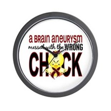 Brain Aneurysm Wrong Chick 1 Wall Clock