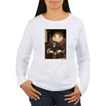 Queen & Cavalier (BT) Women's Long Sleeve T-Shirt