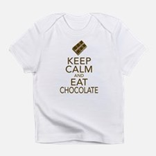Keep Calm and Eat chocolate Infant T-Shirt