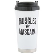 Muscles and Mascara Travel Mug