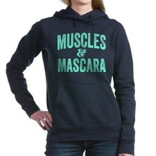 Muscles and Mascara Women's Hooded Sweatshirt