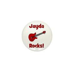 Guitar - Jayda Rocks! Mini Button