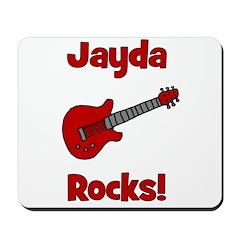 Guitar - Jayda Rocks! Mousepad