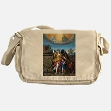 Domenichino - Guardian Angel - 1615 Messenger Bag