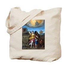 Domenichino - Guardian Angel - 1615 Tote Bag