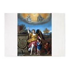 Domenichino - Guardian Angel - 1615 5'x7'Area Rug