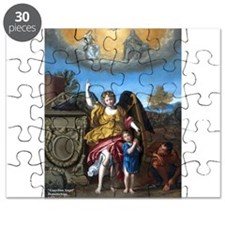 Domenichino - Guardian Angel - 1615 Puzzle