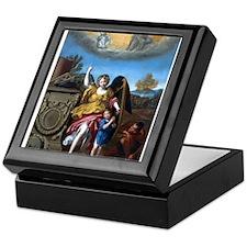 Domenichino - Guardian Angel - 1615 Keepsake Box