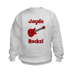 Guitar - Jayda Rocks! Sweatshirt