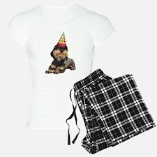 Wirehaired Dachshund Birthd Pajamas