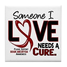 Brain Aneurysm Needs a Cure 2 Tile Coaster