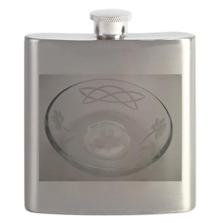 Shamrock celtic Flask