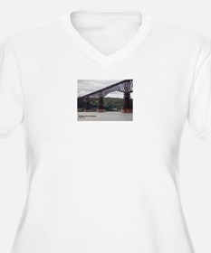 Walkway Over the Hudson Plus Size T-Shirt